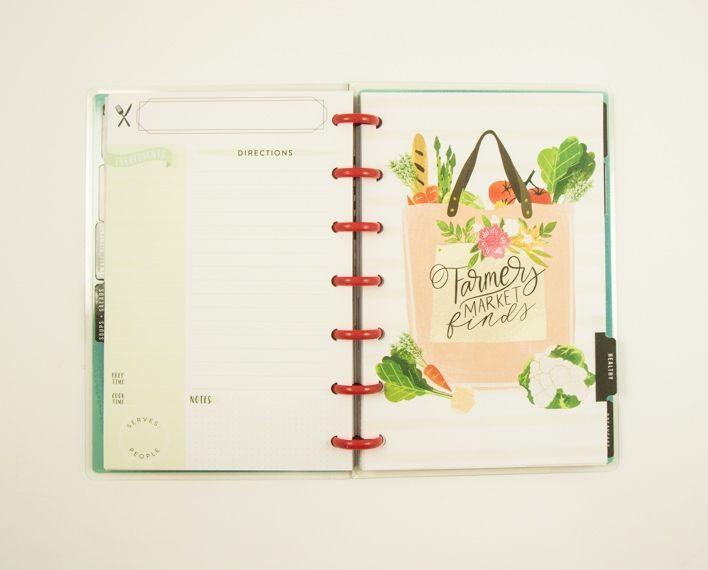 Askaretta Teemat Plannerit Mini Recipes 7415