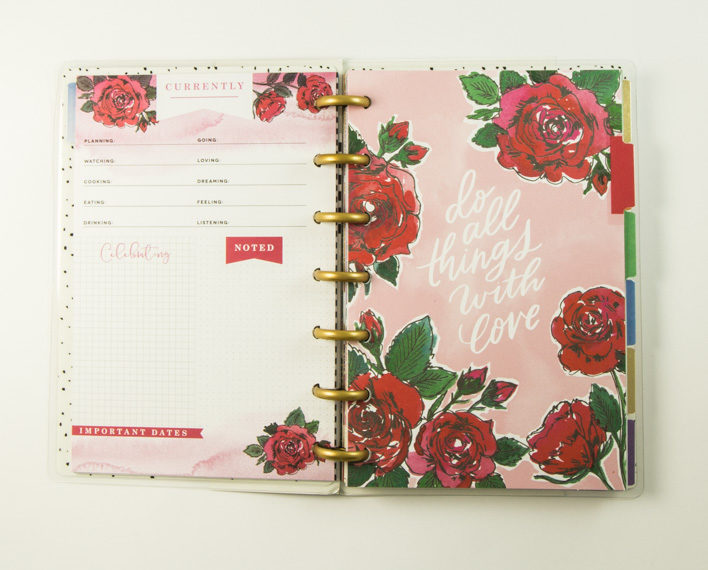 Askaretta Planner Mini Blossom 7786