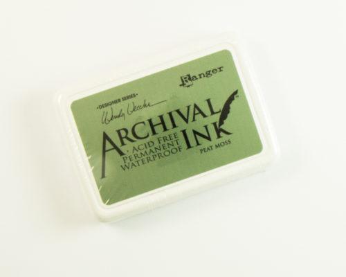 Askaretta Leimasin Archival Moss 8075