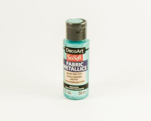 Askaretta Kangasvärit Metalli Aquamarine 8424