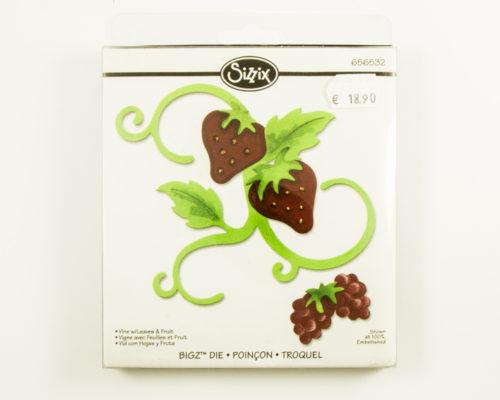 Askaretta Sizzix Bigz Fruits 8722