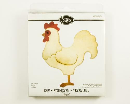 Askaretta Sizzix Bigz Rooster 8732