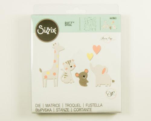 Askaretta Sizzix Bigz Zoofriends 8706
