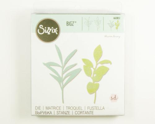 Askaretta Sizzix Lehdet2 8791