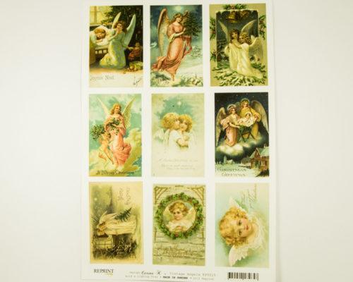 Askaretta Joulu Cutouts Angels 9269