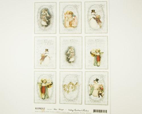 Askaretta Joulu Cutouts Frosty 9264