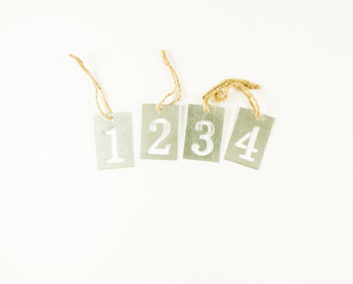 Askaretta Joulu Koristeet Numerot Suorakaide 9471