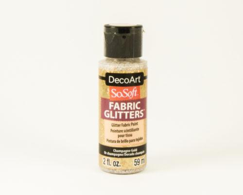 Askaretta Värit Fabricglitter Goldkirkas 9652