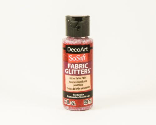 Askaretta Värit Fabricglitter Red 9649