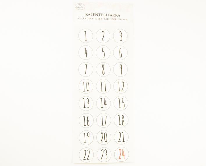 Askaretta Joulu Kalenteritarra 9812