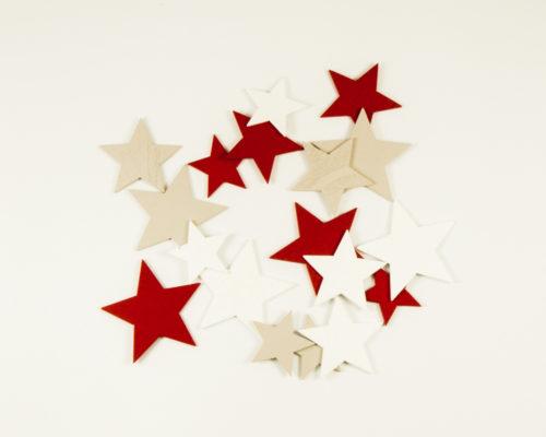 Askaretta Joulu Kuviot Tähdet Puna 9852