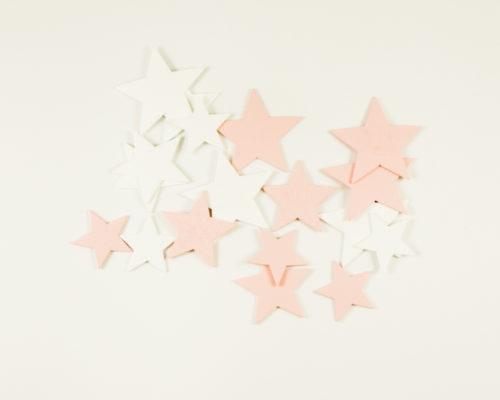 Askaretta Joulu Kuviot Tähdet Vaaleapuna 9853