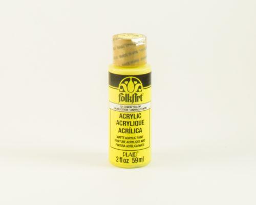Askaretta Folkart Lemonyellow 10081