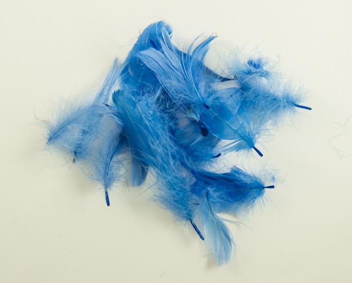 Askaretta Höyhenet Sininen Pieni 10079
