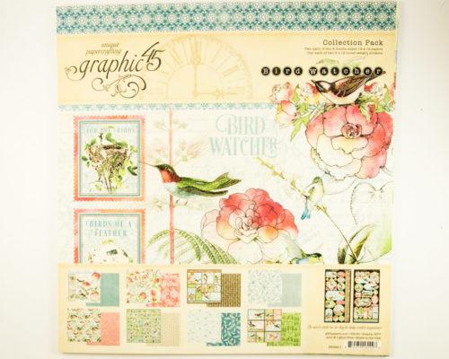 Askaretta Lehtiö Graphic45 Birdwatchers 10443