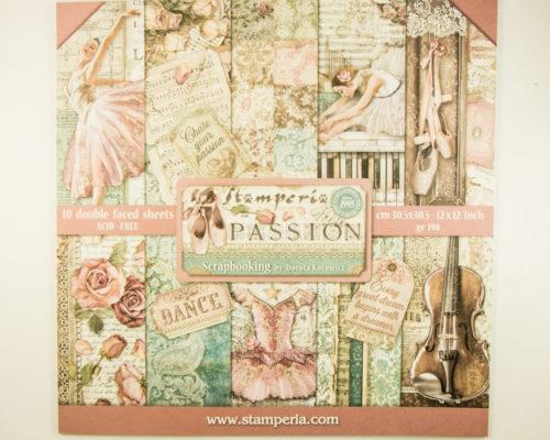Askaretta Stamperia Lehtiö Passion 10422