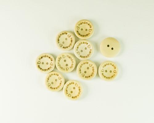 Askaretta Askartelu Handmade Nappi Iso 10521