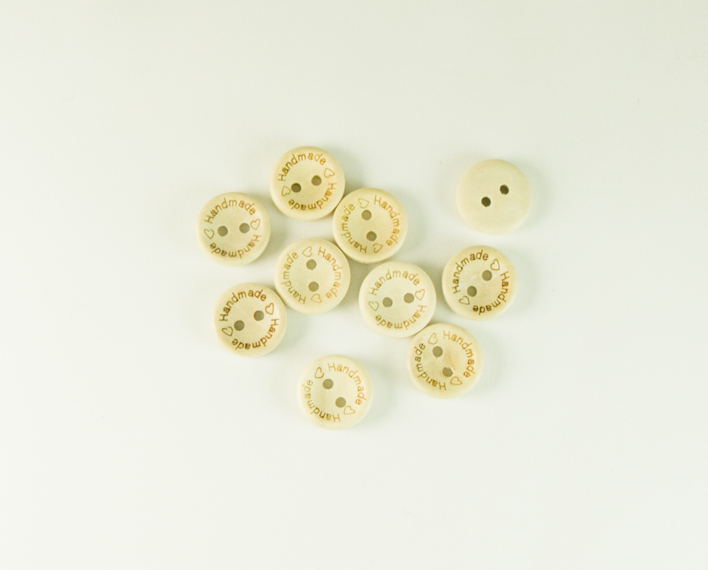 Askaretta Askartelu Handmade Nappi Pieni 10522